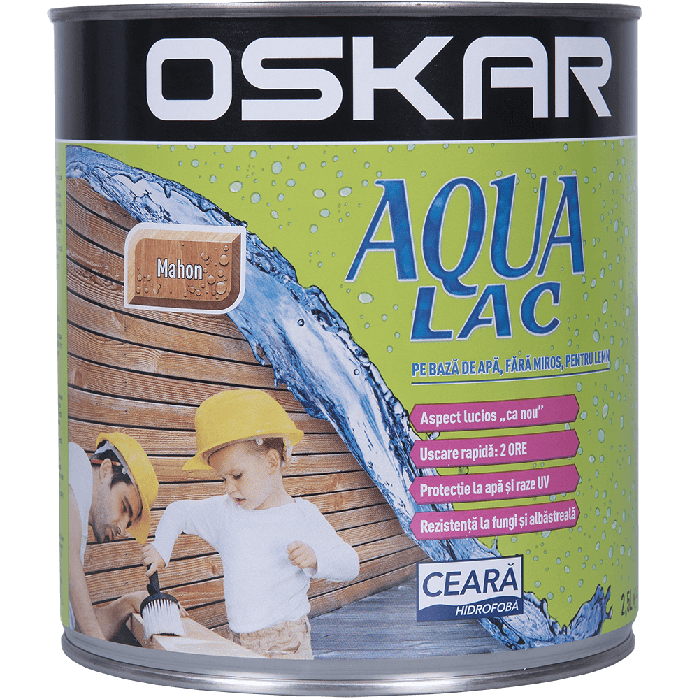 Lac Oskar Aqua mahon 2,5 L