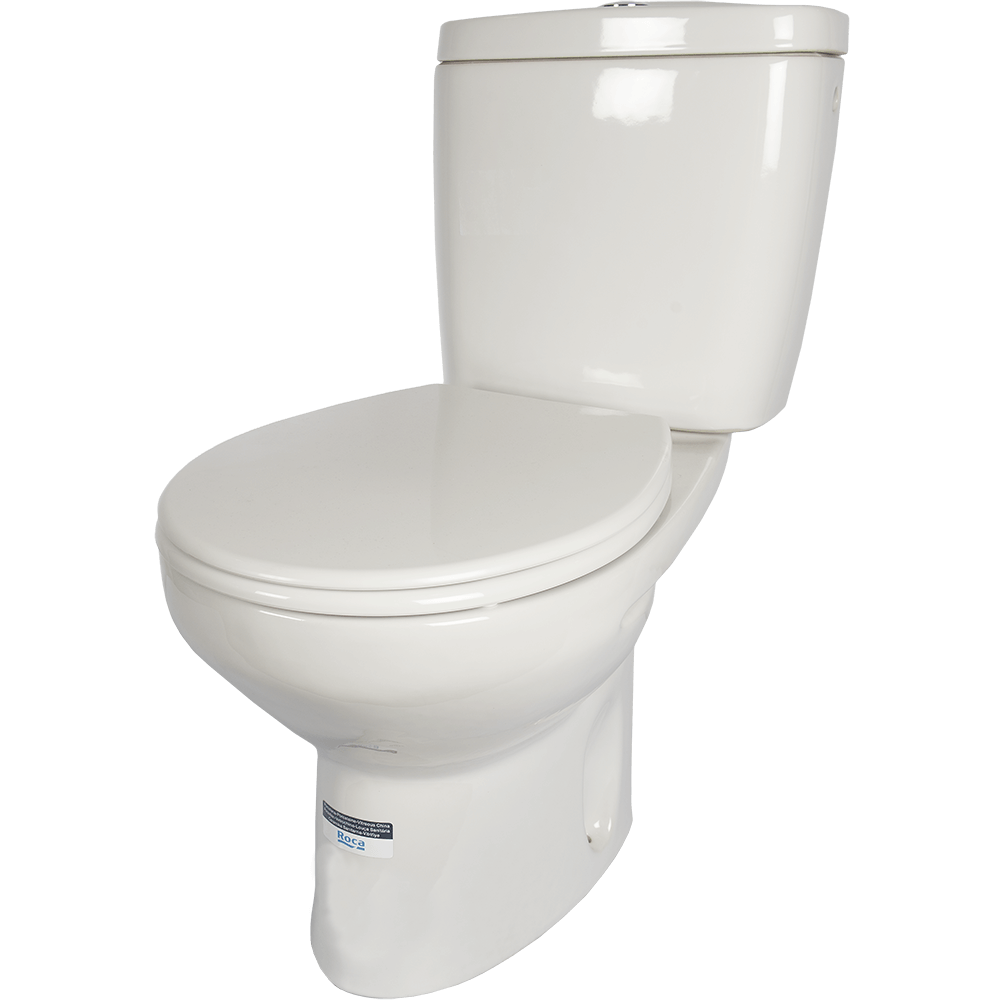 Set toaleta Roca Victoria V, WC + capac + rezervor, scurgere verticala, alb imagine 2021 mathaus