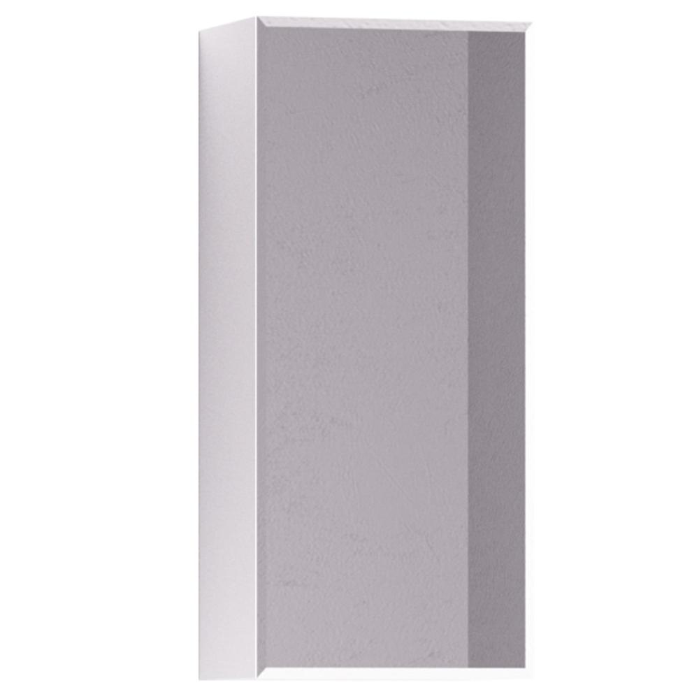 Dulap de baie Promo Badenmob cu oglinda, montaj suspendat, PAL lucios, alb, 30 x 20 x 70 cm imagine MatHaus.ro