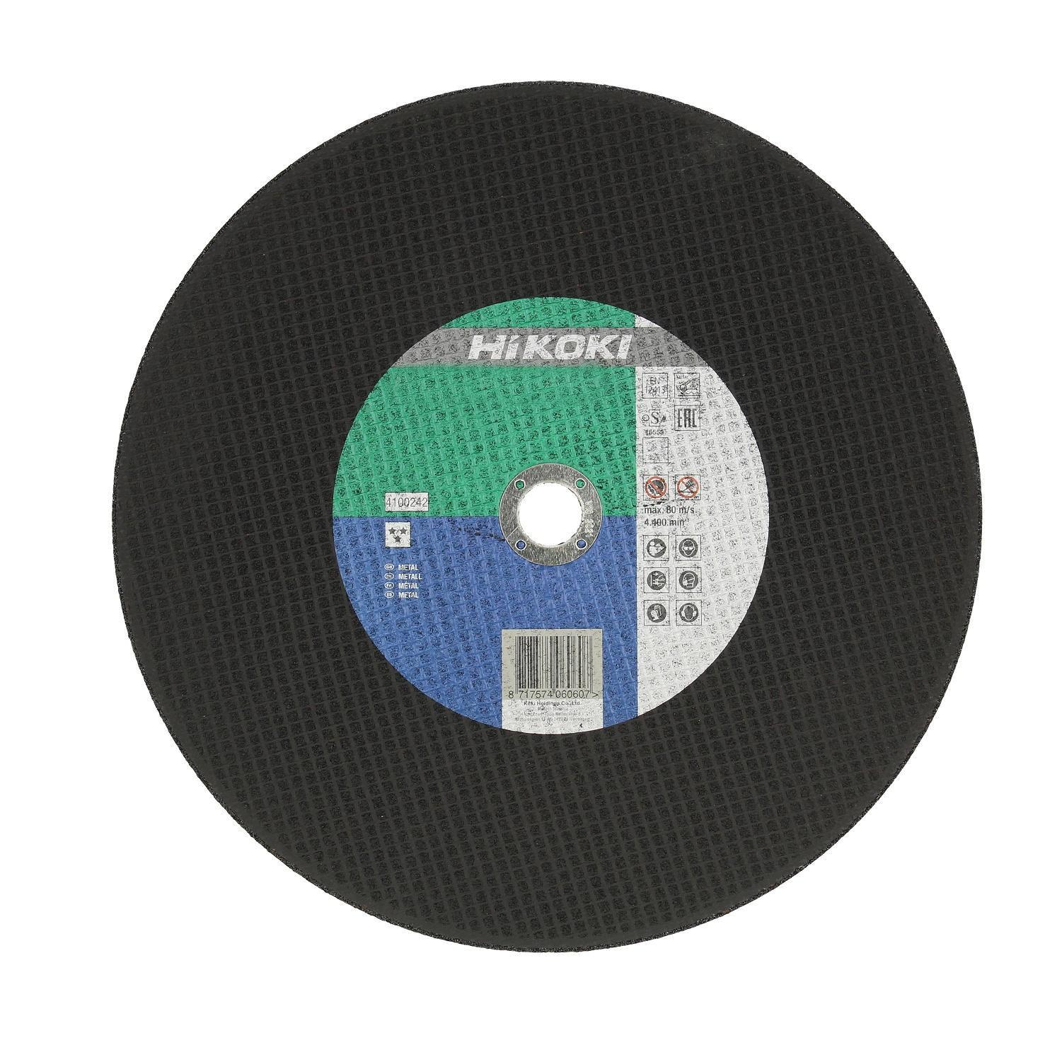 Disc polizare metal 350 x 2,8 x 25,4 mm, Hikoki