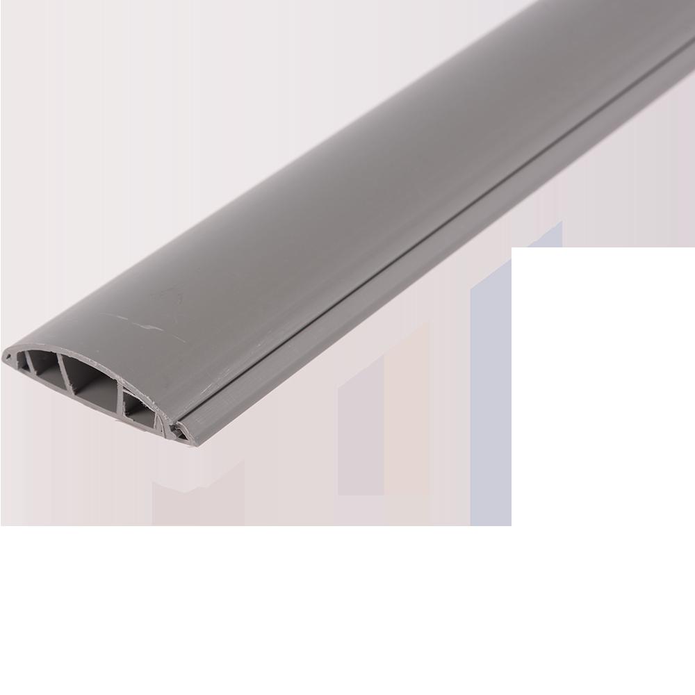 Canal cablu semirotund 60 x 15 mm, 2 m, PVC ignifugat