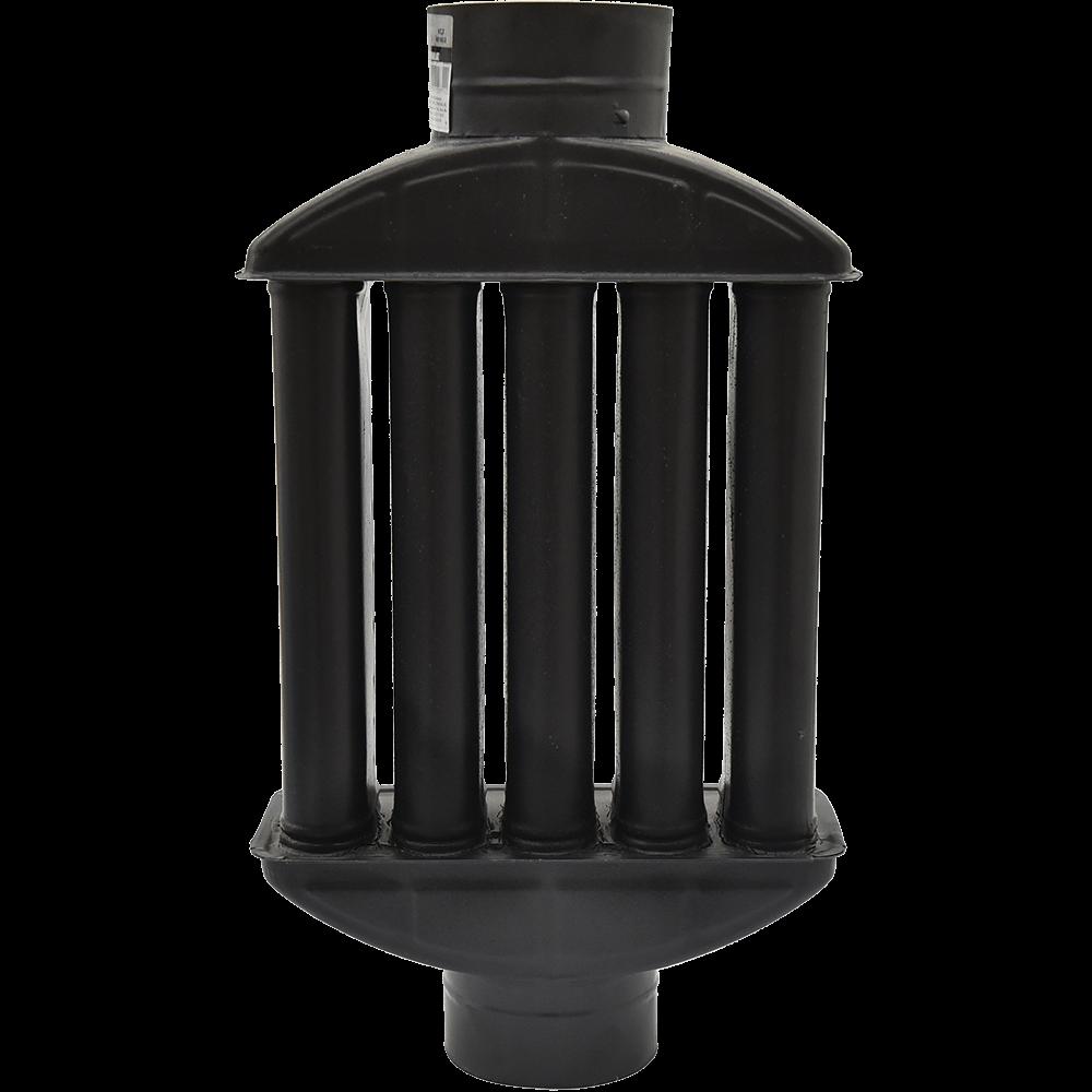 Recuperator caldura emailat, negru mat, D: 120 mm imagine 2021 mathaus
