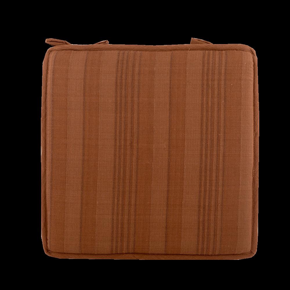 Perna decorativa pentru scaun Vision Choco, patrata, 40 x 40 x 2 cm, maro ciocolatiu