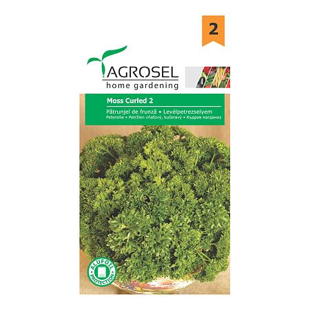 Seminte de patrunjel de frunze, Agrosel Moss Curled 2