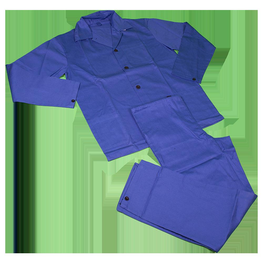Costum salopeta standard 9080, 100% bumbac sanforizat, marimea 56, bleumarin imagine 2021 mathaus