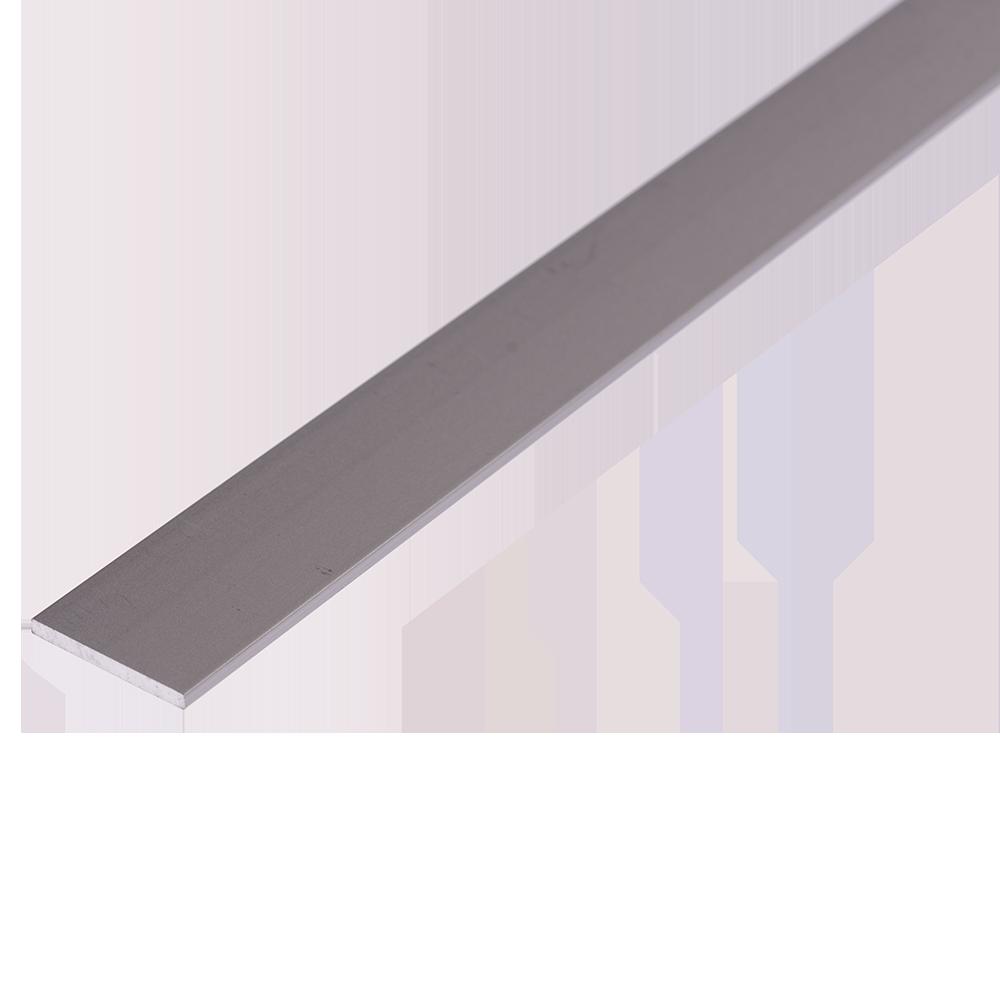 Bara plata, aluminiu eloxat, 20 x 2 mm x 2 m imagine 2021 mathaus