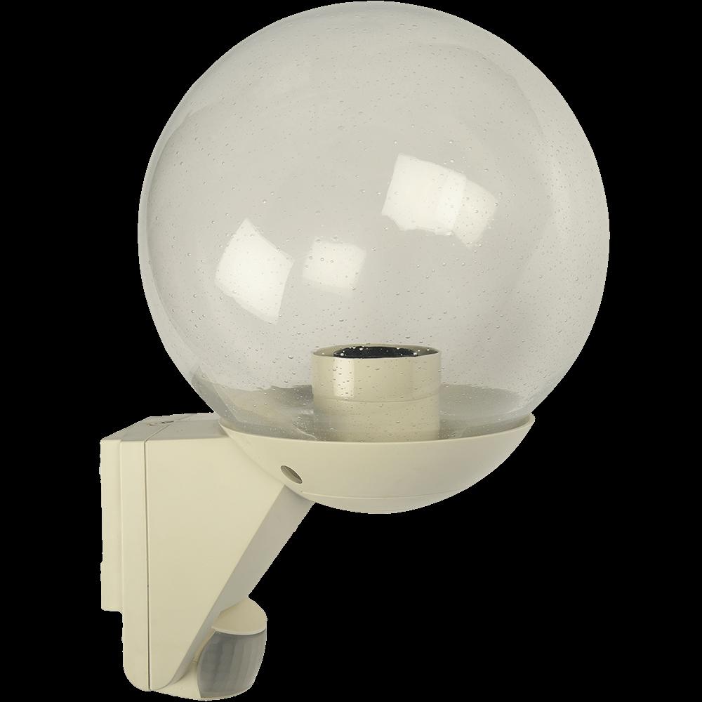 Lampa pentru exterior Steinel L585 S, senzor infrarosu cu detectie 12 m, bec E27, neagra imagine MatHaus