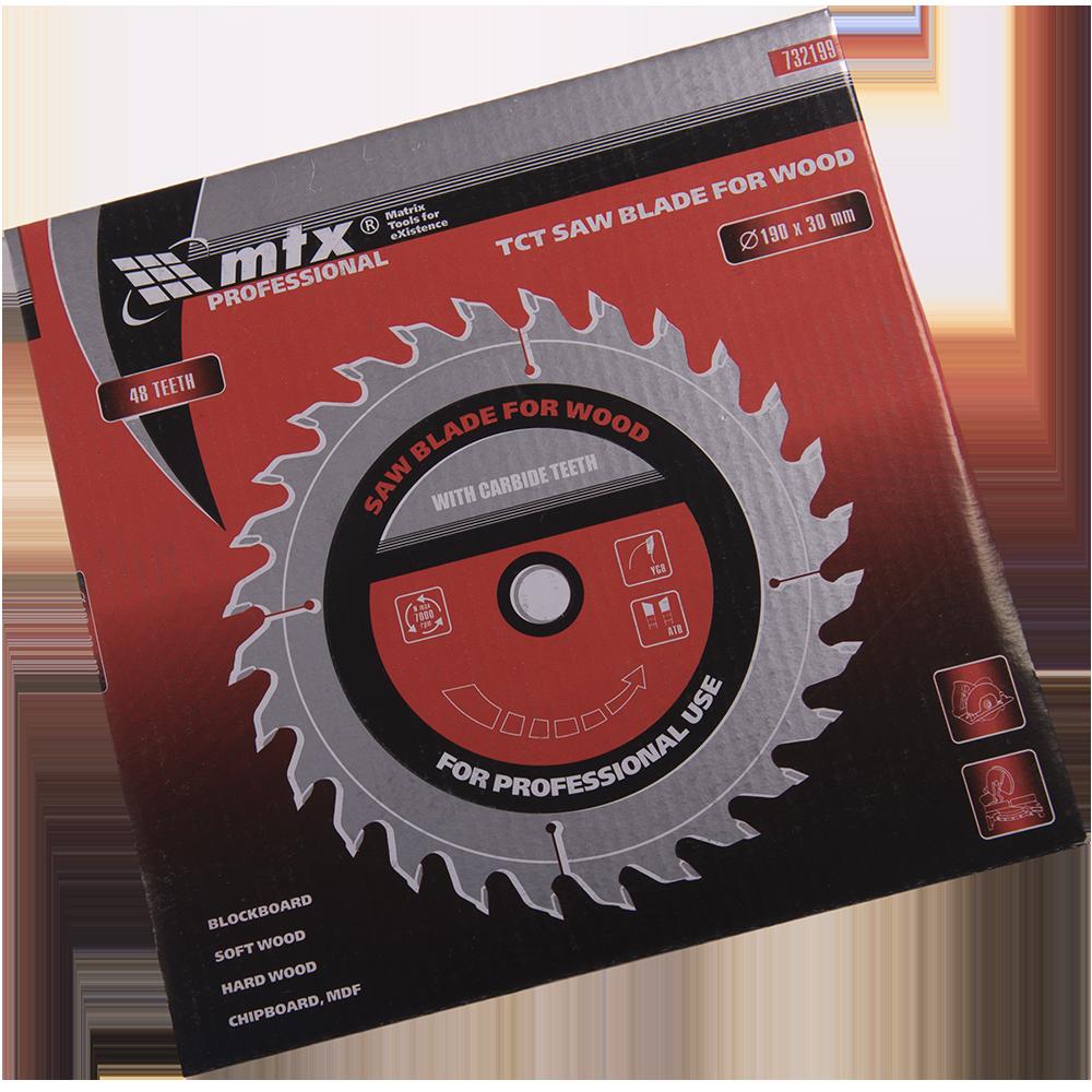 Disc Lemn 190 X 30 mm 48 Dinti Mtx