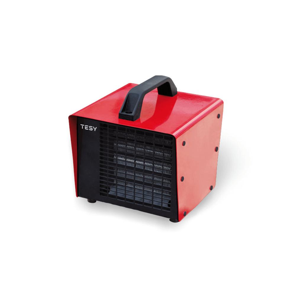 Aeroterma ceramica cu ventilator Tesy HL 830 V PTC, 3 trepte de putere, 3000 W, 25,3 x 23,8 x 23,8 cm, termostat de siguranta, grila de protectie imagine 2021 mathaus