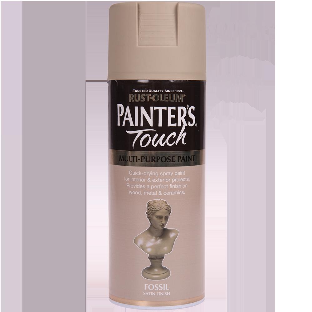 Spray Rust-Oleum Painter`s Touchs, satin, fosil, 400 ml imagine MatHaus.ro