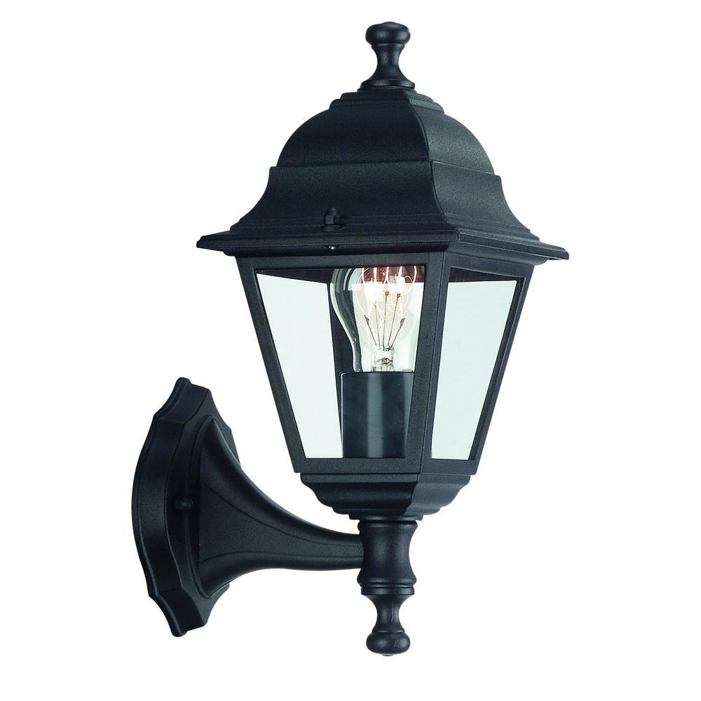 Aplica Philips Lima Wall lanterna black 1X60W imagine MatHaus