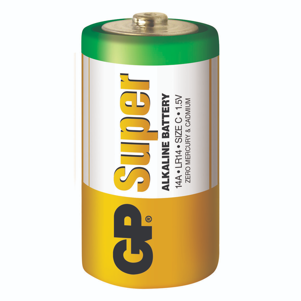 Baterie Alcalina R14 ( C ) 2 Buc/Blister Super Gp imagine 2021 mathaus