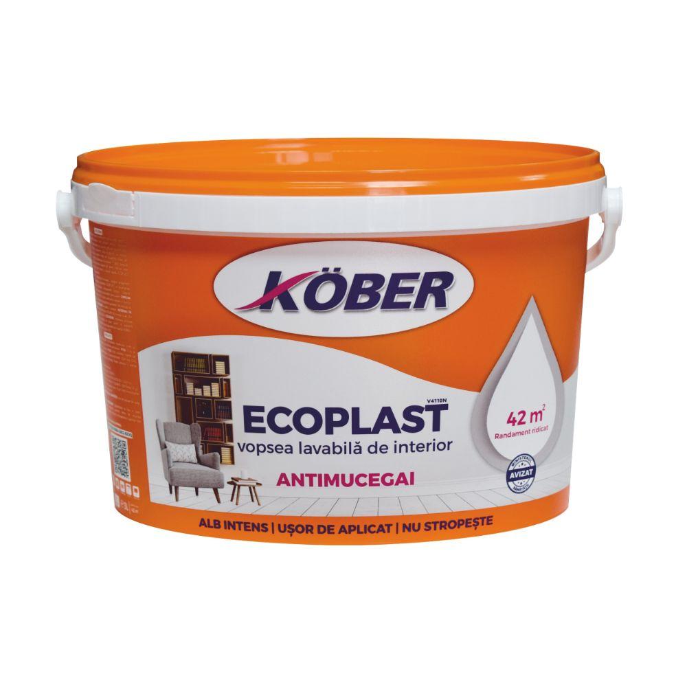 Vopsea Lavabila de Interior Ecoplast 3 L imagine 2021 mathaus