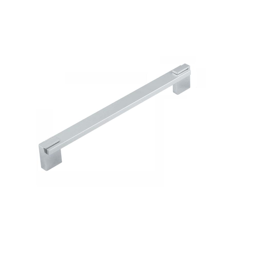 Maner aluminiu cu terminatie FA6332 160 mm, crom mat