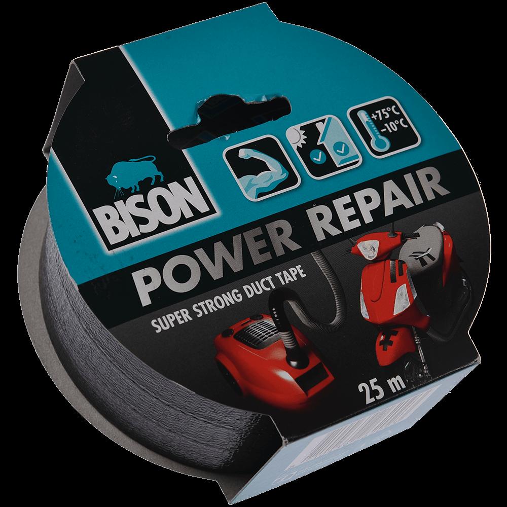 BISON POWER REPAIR BDA TEXT NGR 50mmx25m