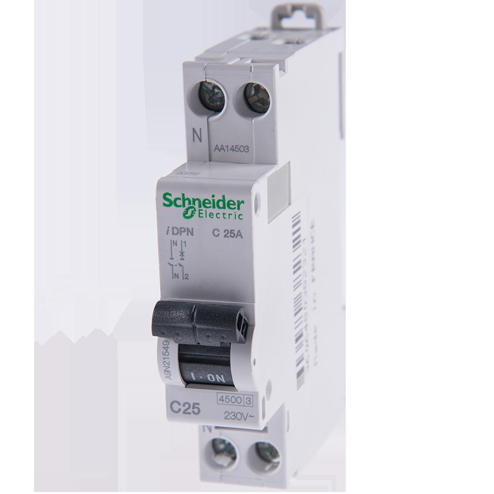 Disjunctor Schneider A9N21549 iDPN, C, 1P+N 25A