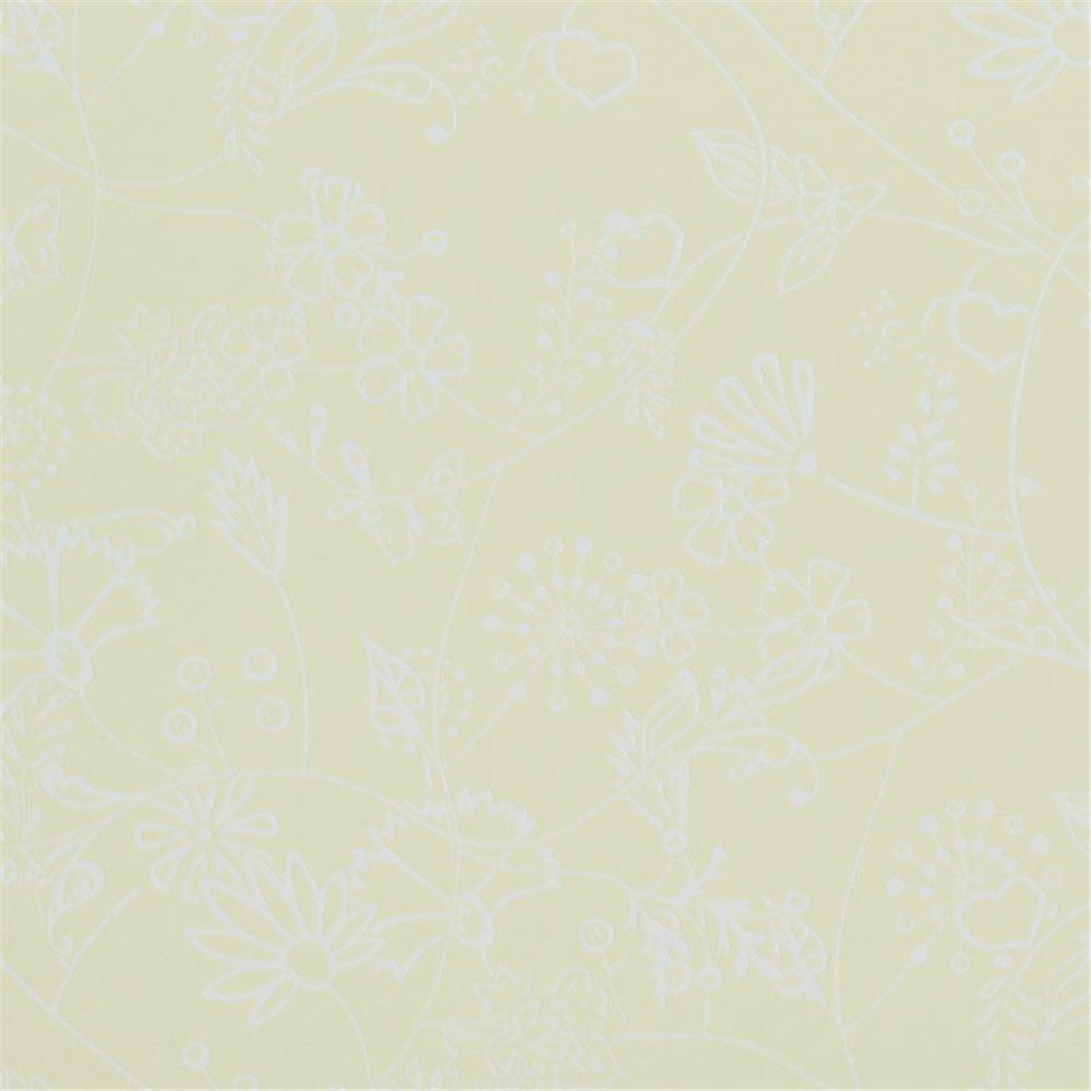 Tapet Hej 218175 galben flori 10x0.53m