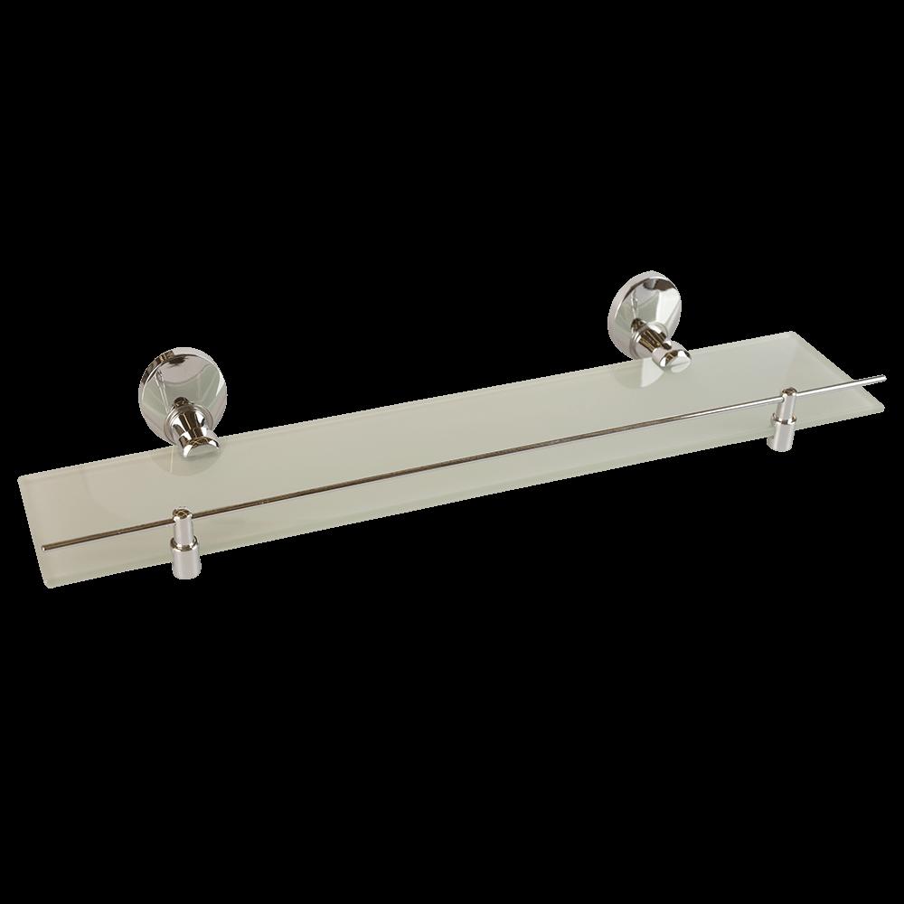 Etajera Bisk Emotion, zinc/aluminiu, sticla, crom, 1 raft, 50 x 14.5 x 6 cm mathaus 2021