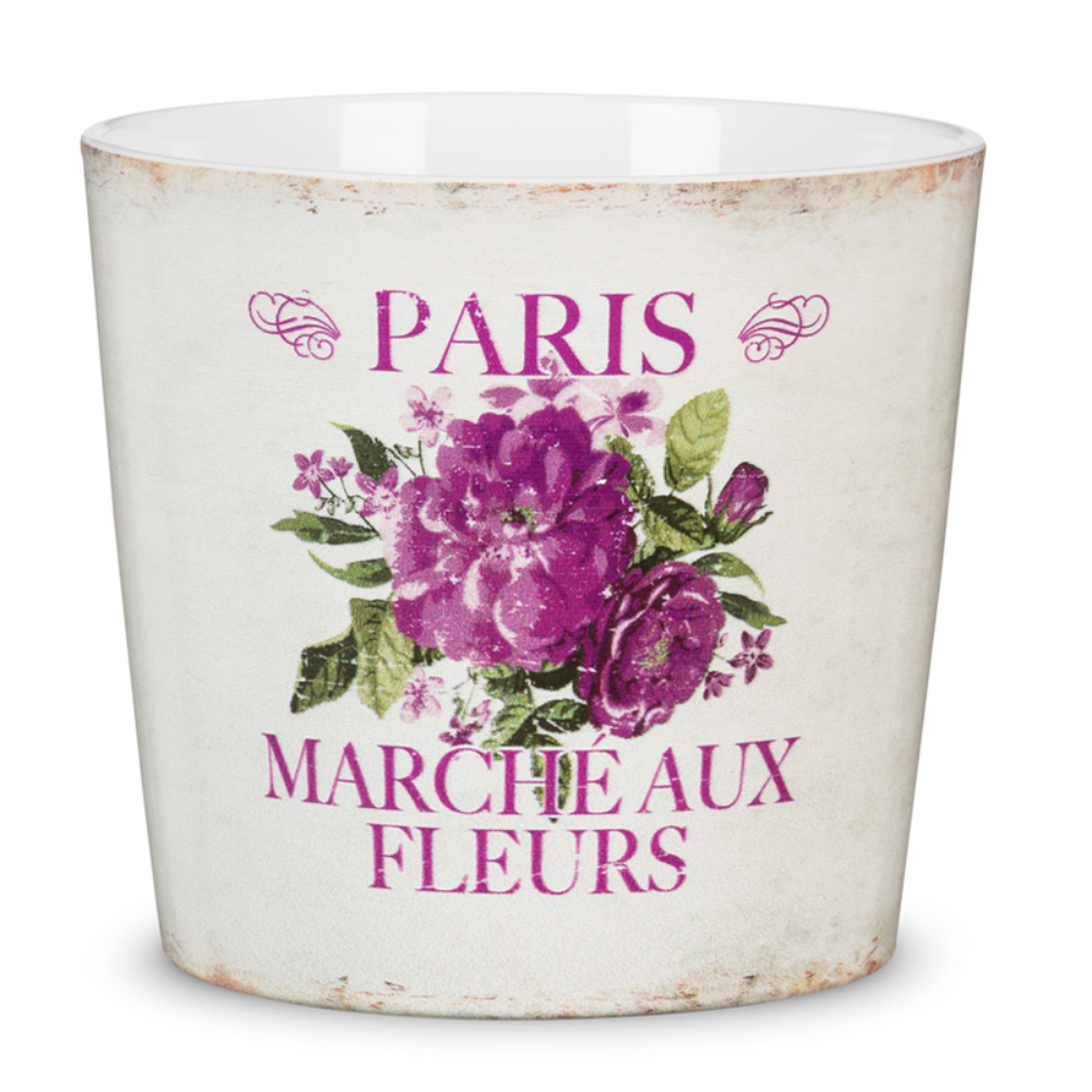 Masca ghiveci Scheurich Paris Fleurs, ceramica, multicolor, 1.5 l, diametru 13 cm, 12 cm imagine 2021 mathaus