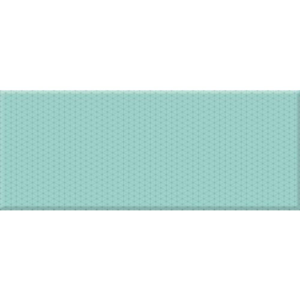 Faianta Concept turcoaz, finisaj lucios, dreptunghiulara, 20 x 50 cm imagine MatHaus.ro