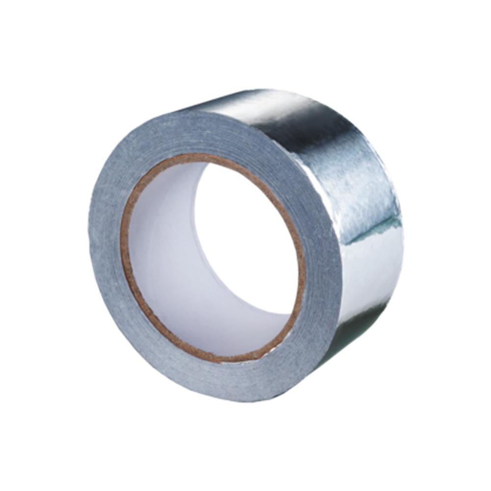 Banda adeziva din aluminiu, 50 m lungime, 50 mm latime