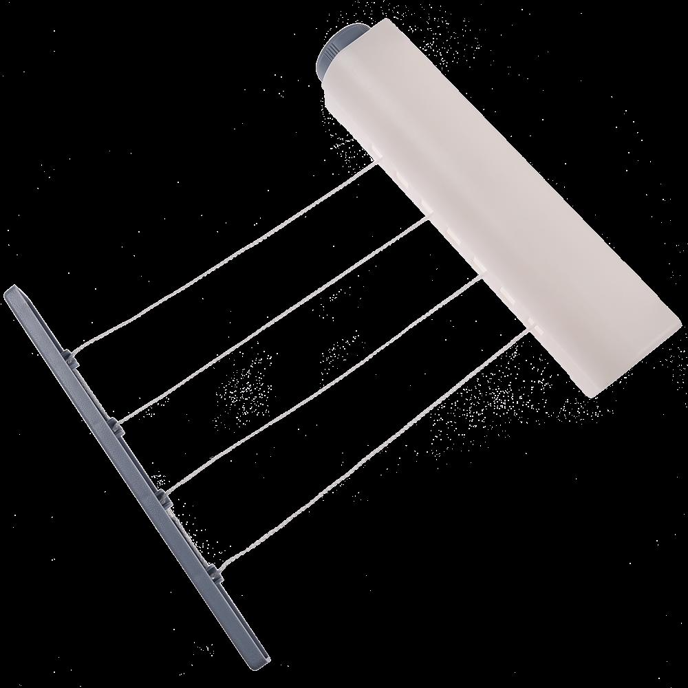 Uscator pentru rufe, 4 linii, 6.5 Kg, plastic, 29,3 x 6 x 6 cm imagine MatHaus.ro