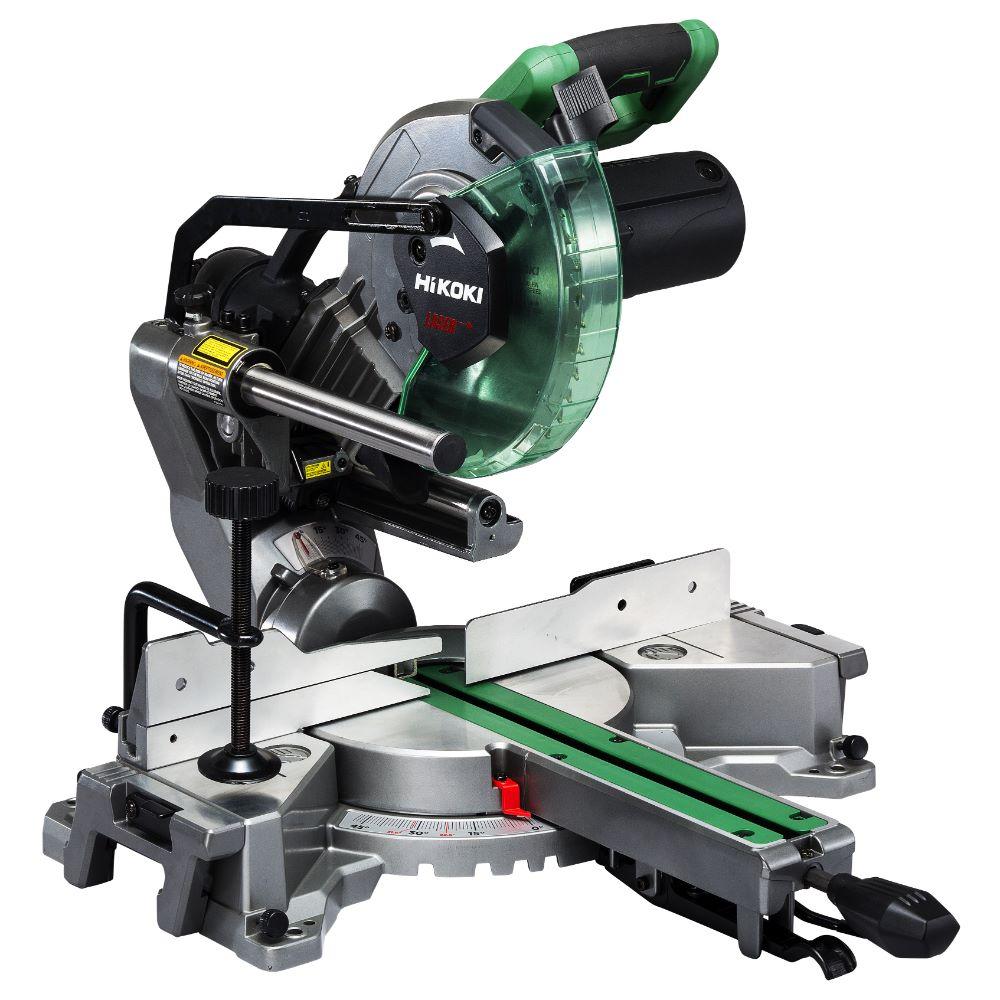 Ferastrau circular stationar cu laser Hikoki C 8FSHG, 1100 W, 216 mm, 5300 spm/rpm
