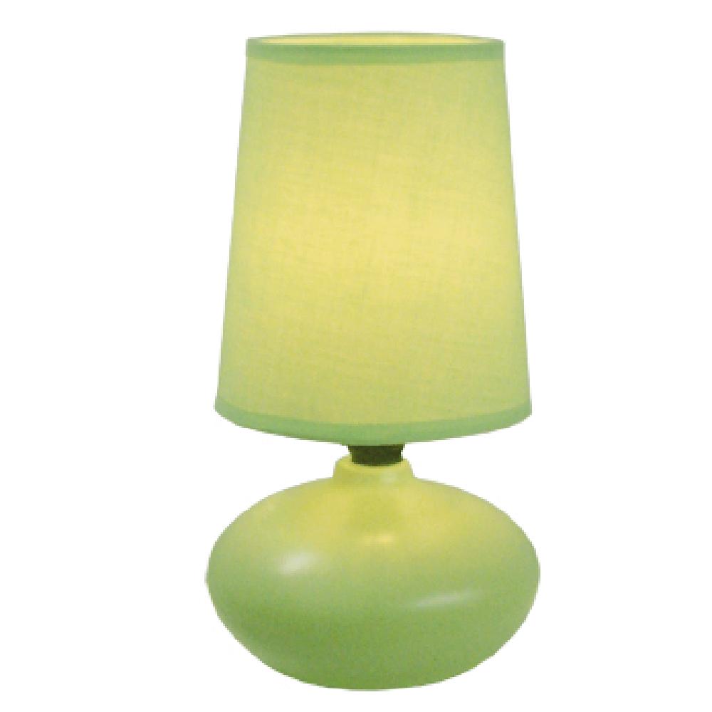 Veioza Oscar KL 0510, ceramica, verde, 1 x E14, 40W, 226 mm imagine 2021 mathaus