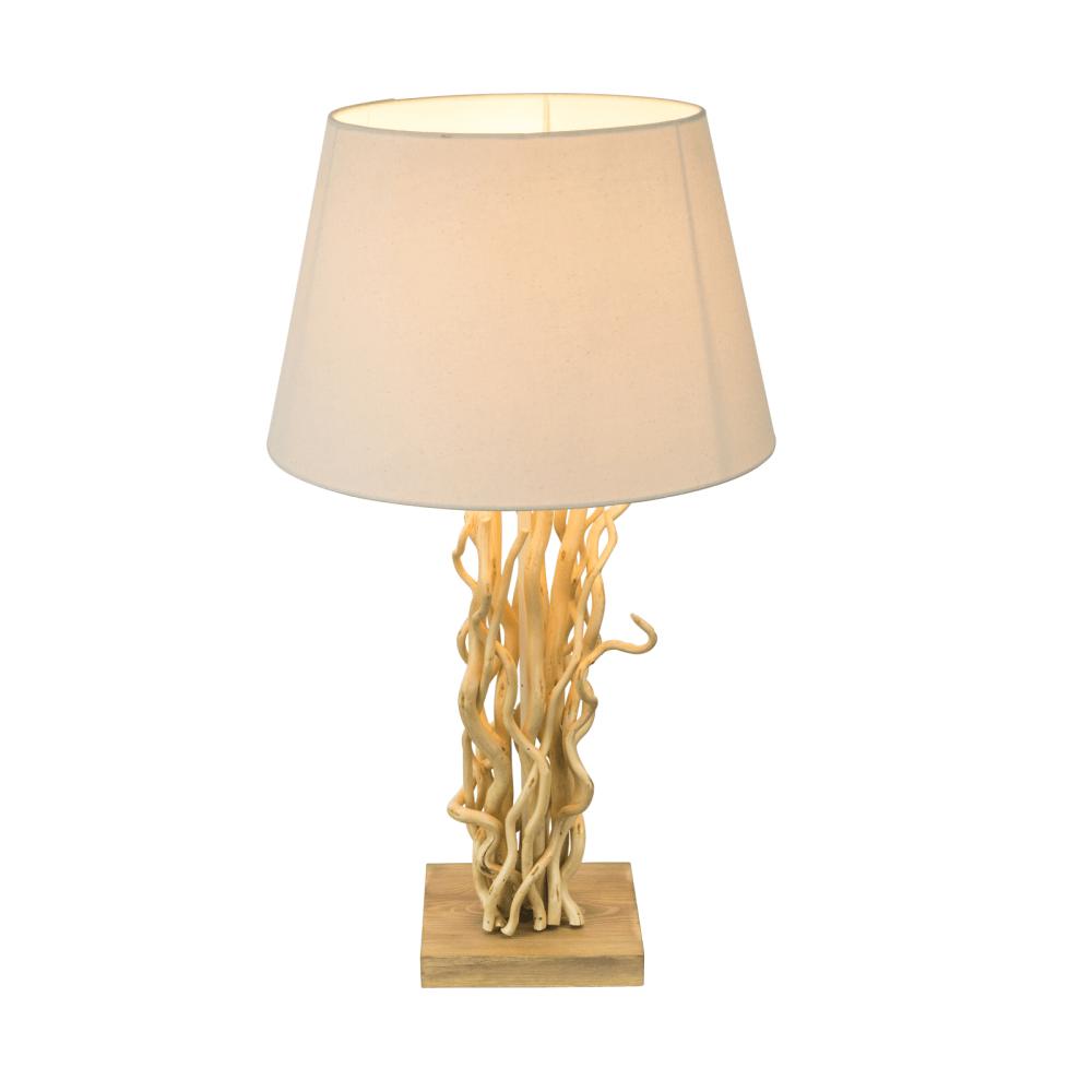 Lampa Jamie, 1 x E27, 60W, crem imagine 2021 mathaus