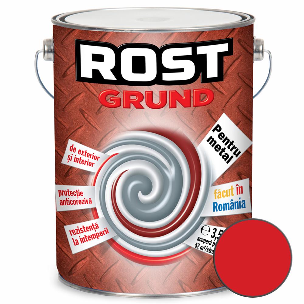 Grund pentru metal, Rost, rosu oxid, 3,5l