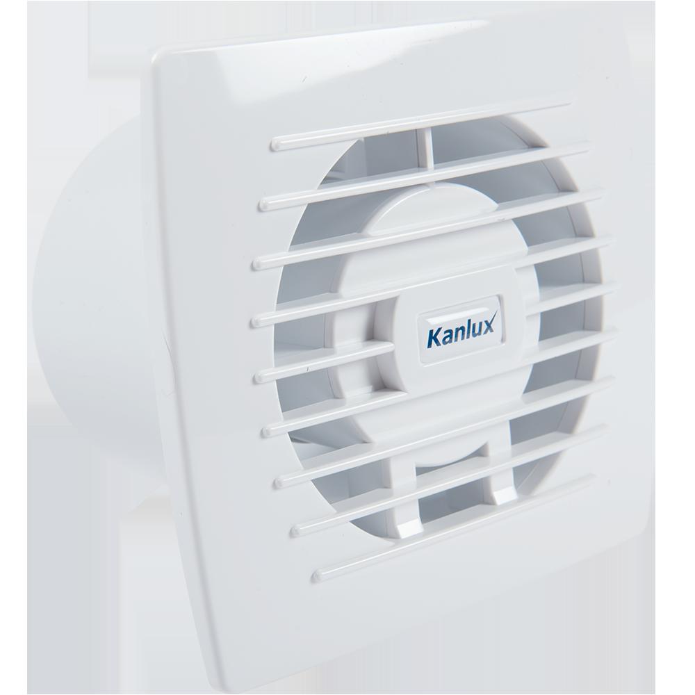 Ventilator Kanlux CYCLON EOL100B, 19 W, alb