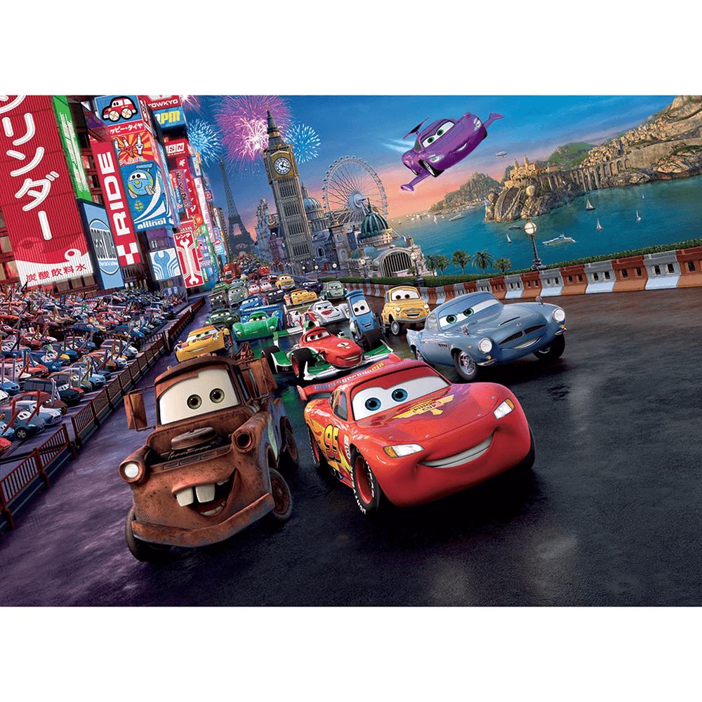 Fototapet vlies Disney cars, 104 x 70.5 cm imagine MatHaus.ro