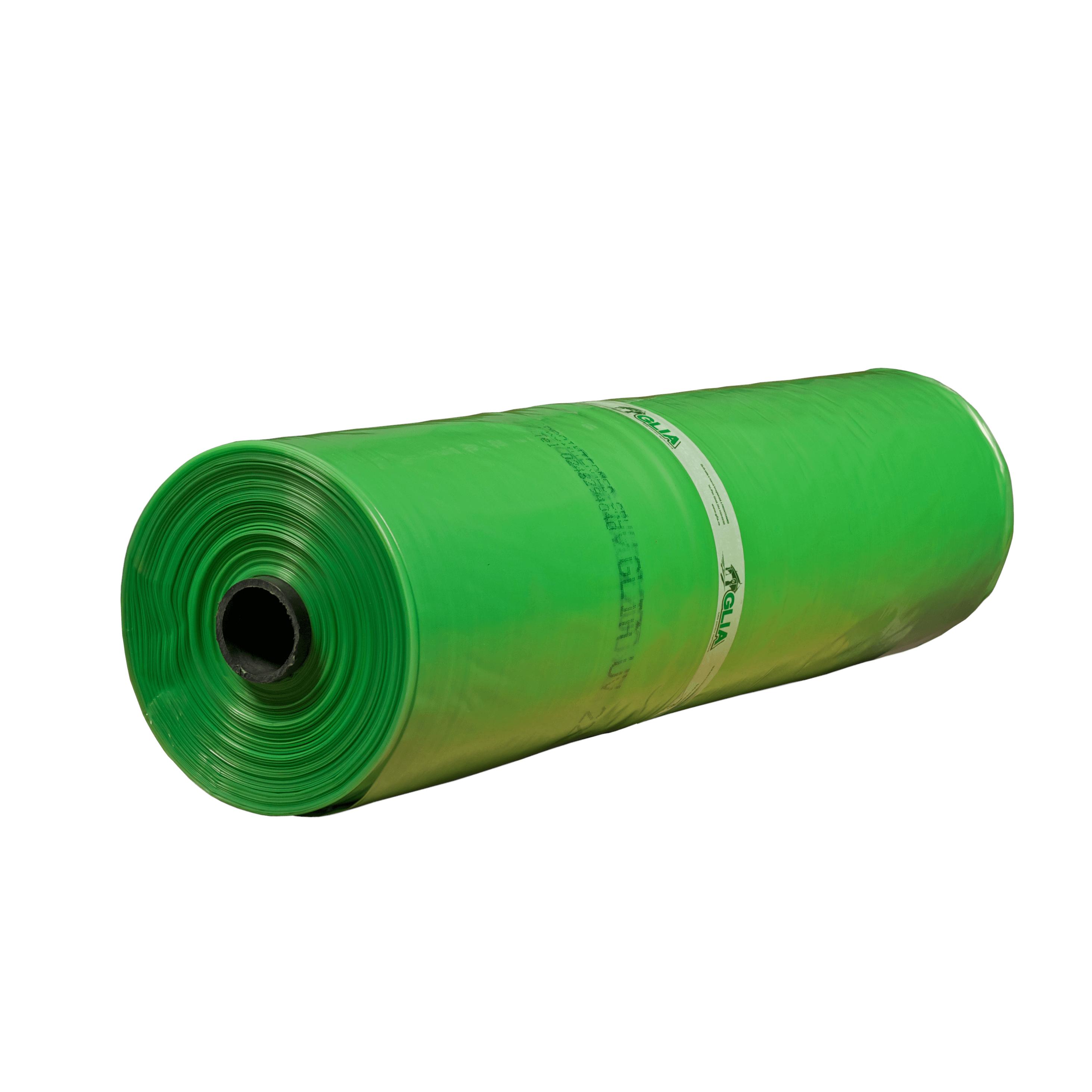 Folie polietilena Glia UV, 0,15 mm grosime, PE natur, verde, rezistenta UV 36 luni, 4,20 m latime mathaus 2021