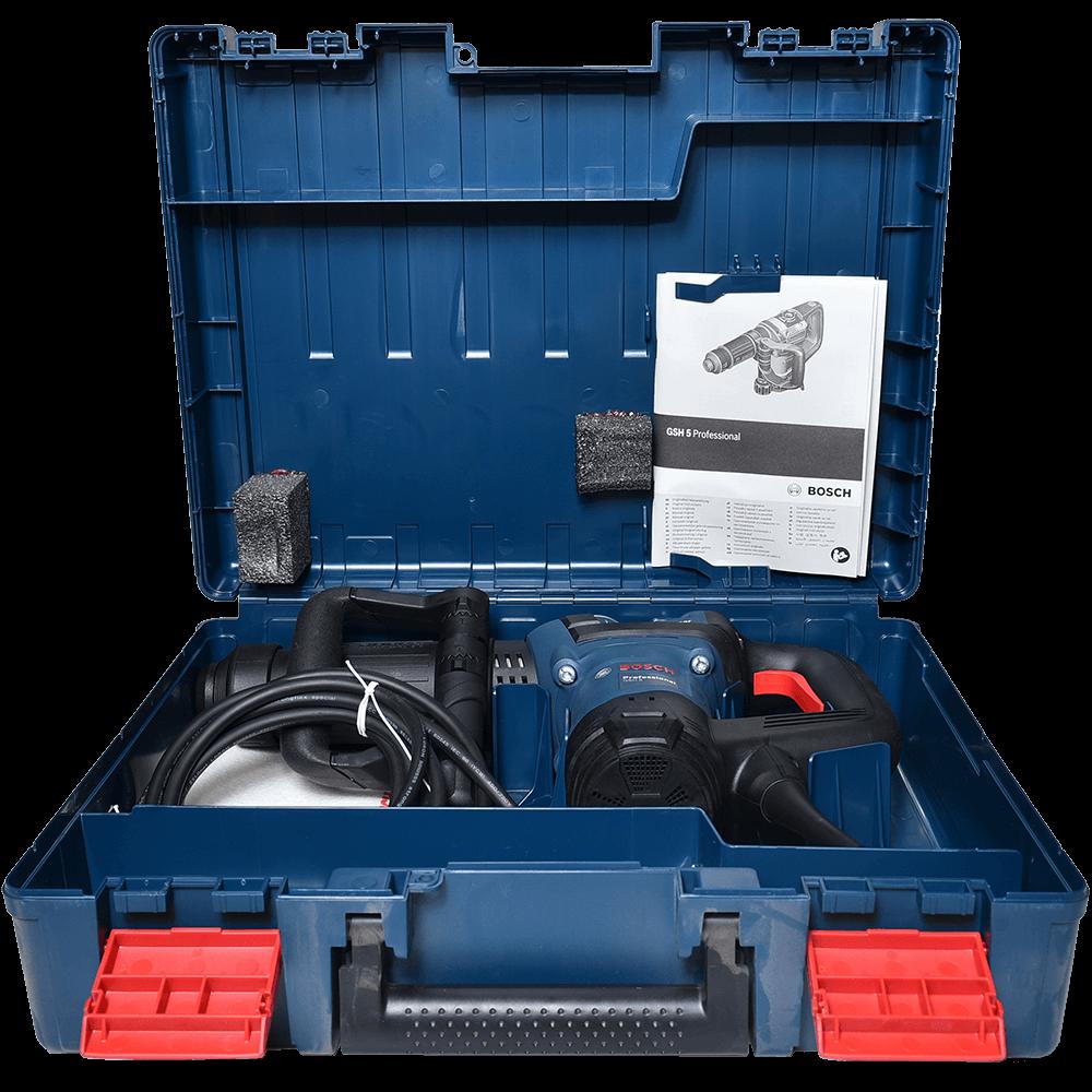 Ciocan demolator Bosch Professional GSH 5 CE, SDS-max, 1150W, 2900ppm, 8.3 J mathaus 2021