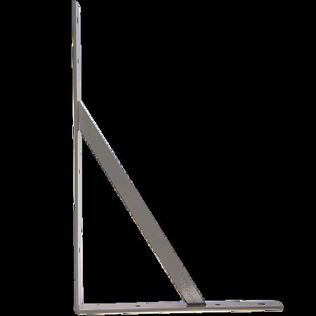 Consola punte, gri, 400 x 250 x 30 mm