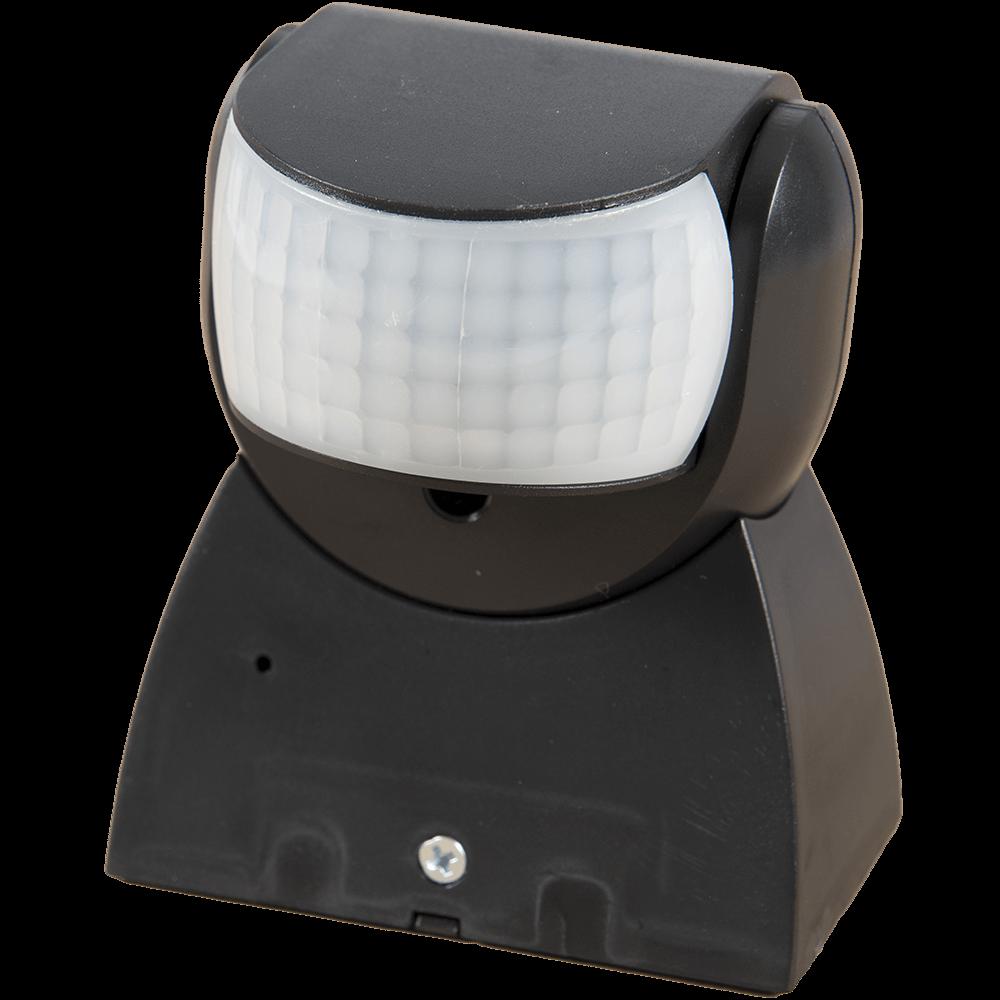 Senzor de miscare infrarosu, 180 grade, 1200 W, IP65, negru mathaus 2021