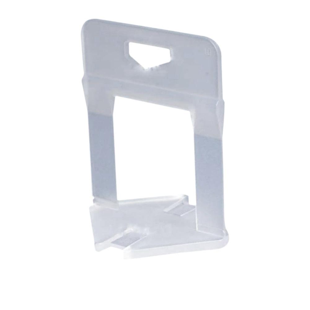 Clips 1.0 mm sistem nivelare gresie Pro, plastic, 100 buc/punga imagine MatHaus.ro