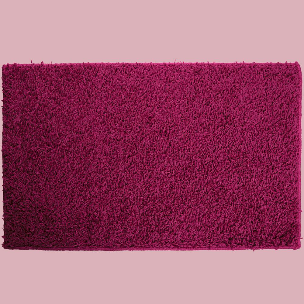 Covor dreptunghiular Mistral, polipropilena, model uni roz 13, 100 x 150 cm imagine MatHaus.ro