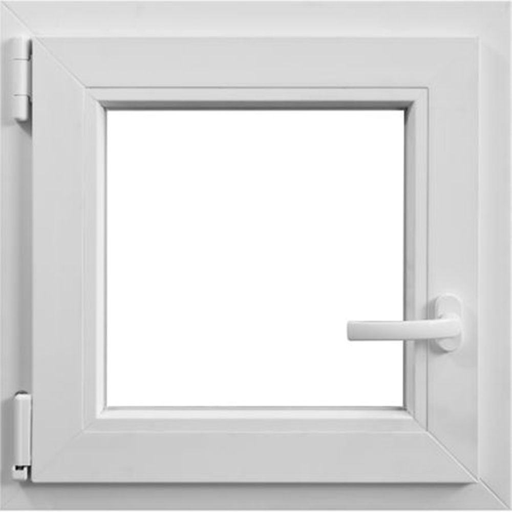 Fereastra PVC, 5 camere, alb, 56 x 56 cm, deschidere simpla stanga imagine MatHaus