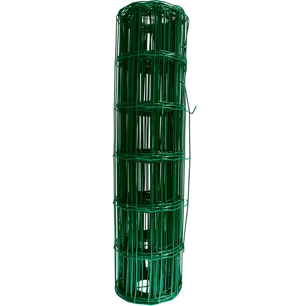 Plasa gard sudata plastifiata zincata, verde Europ, 2,2 mm x 100 x 50 mm x 1,2 m x 25 m imagine 2021 mathaus