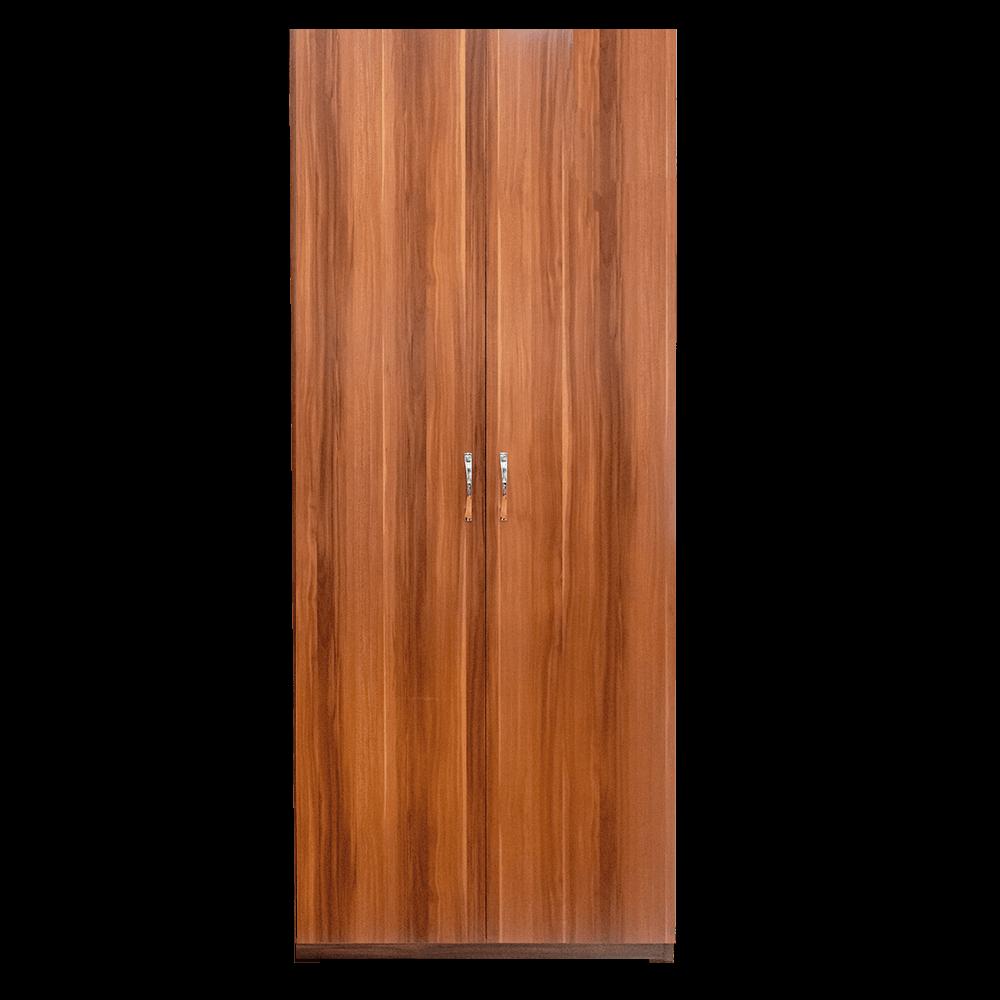 Dulap Eco cires, 2 usi, cu bara si polita, 80 x 50 x 200 cm mathaus 2021