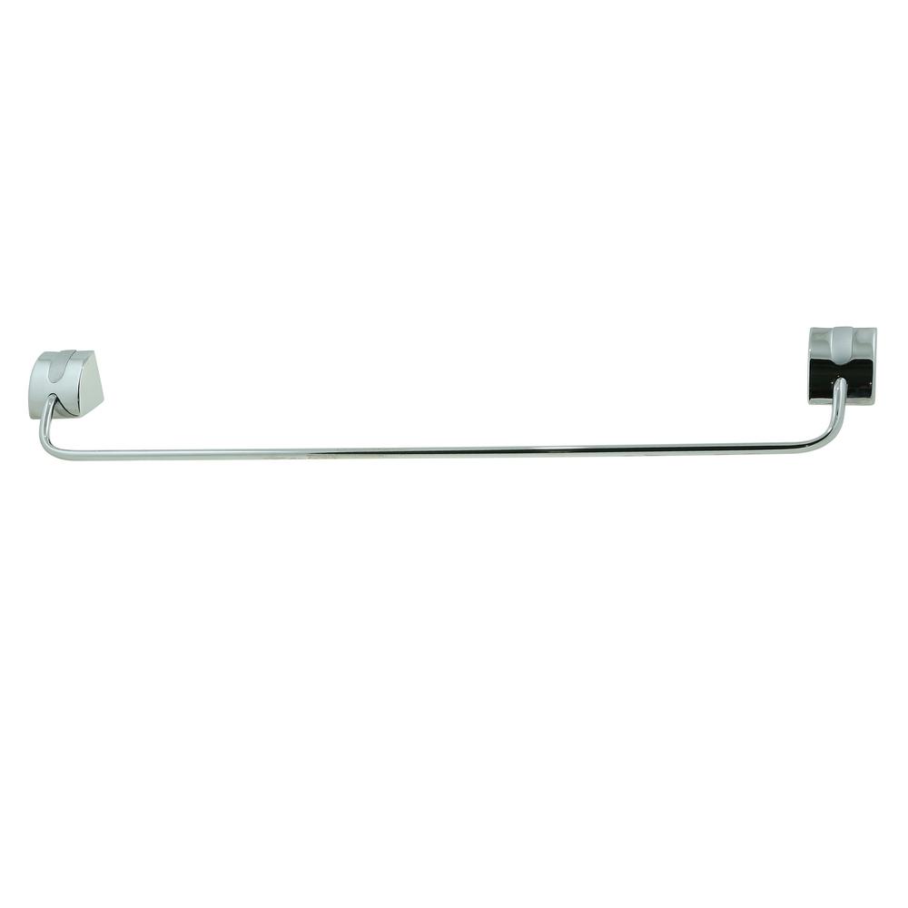 Portprosop simplu Ferro Cascata, crom, 60 cm imagine 2021 mathaus