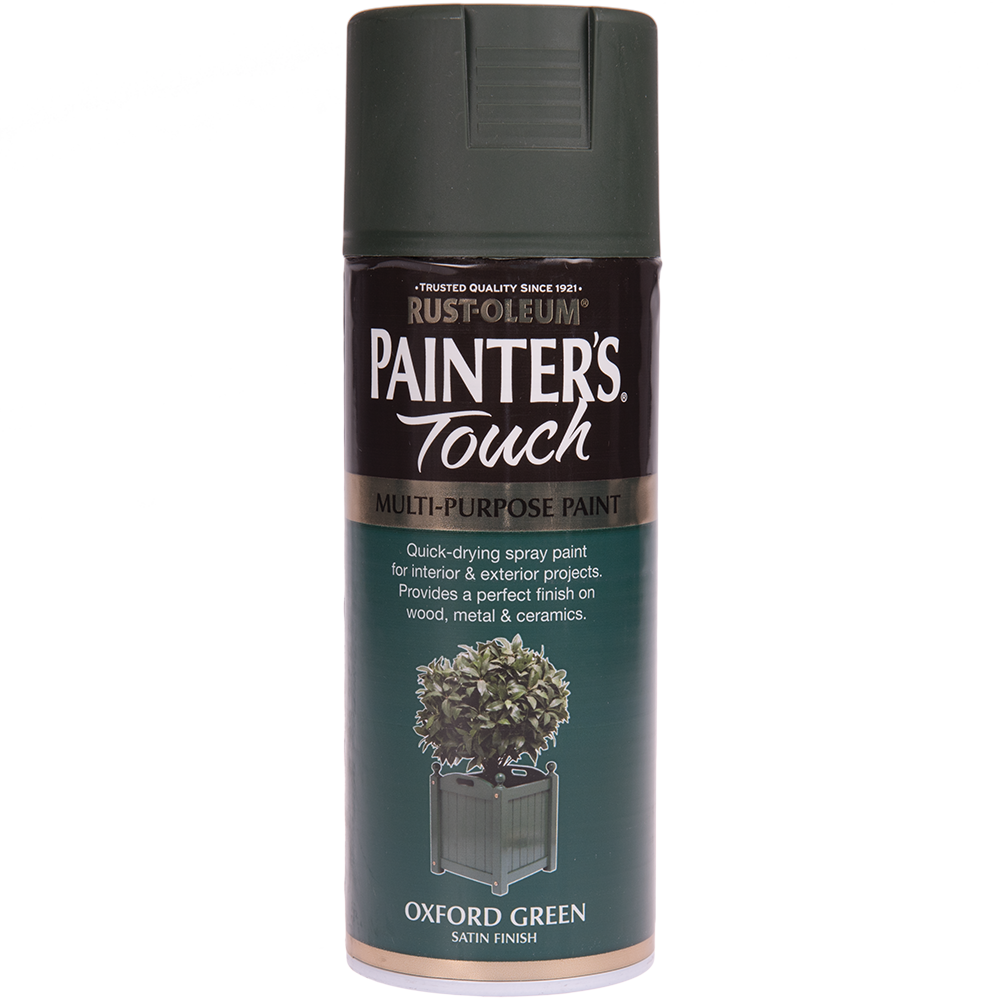 Spray Rust-Oleum Painter`s Touchs, satin, verde oxford, 400 ml imagine 2021 mathaus