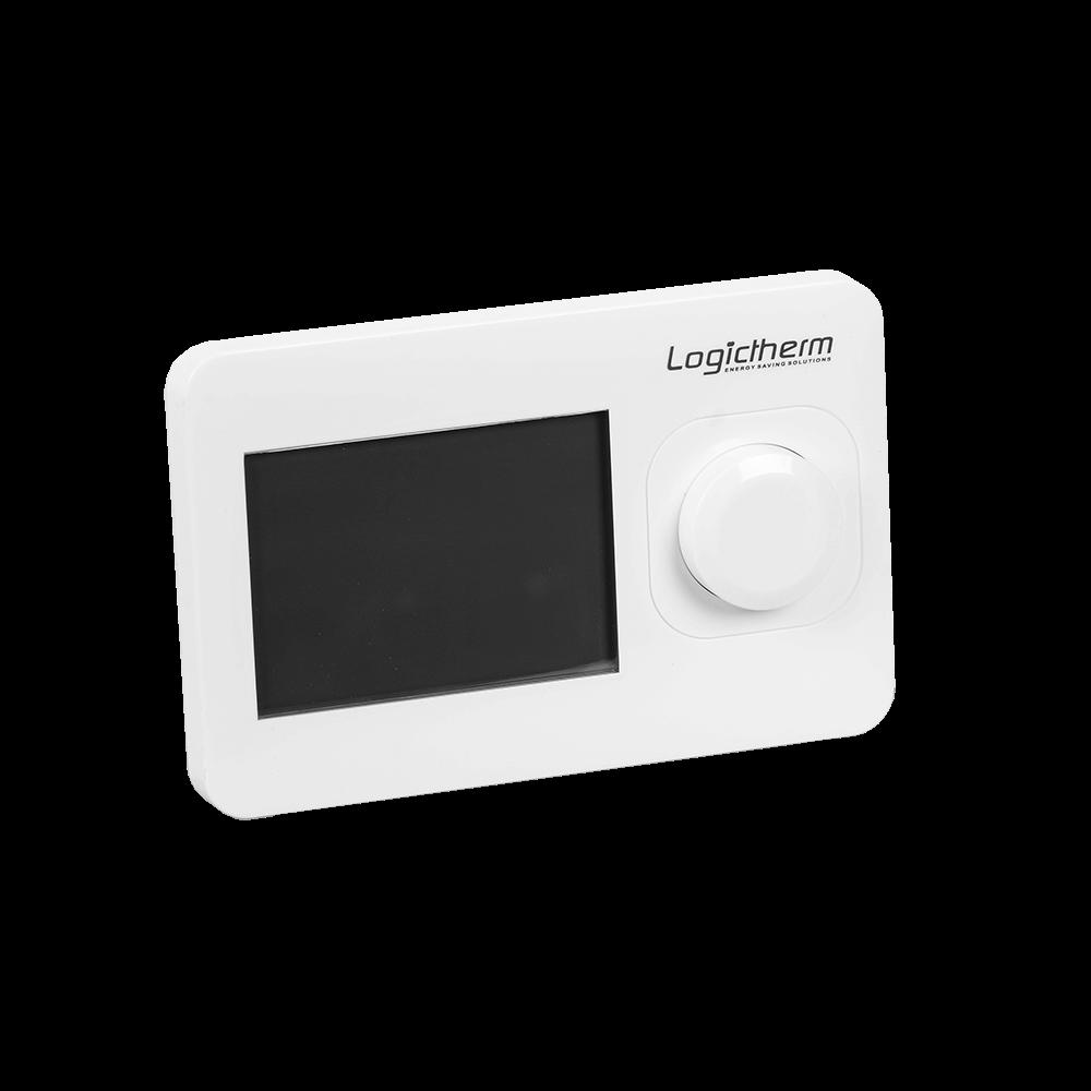 Termostat de ambient pentru centrala, cu fir, neprogramabil, Logictherm R3, digital, 230 V mathaus 2021