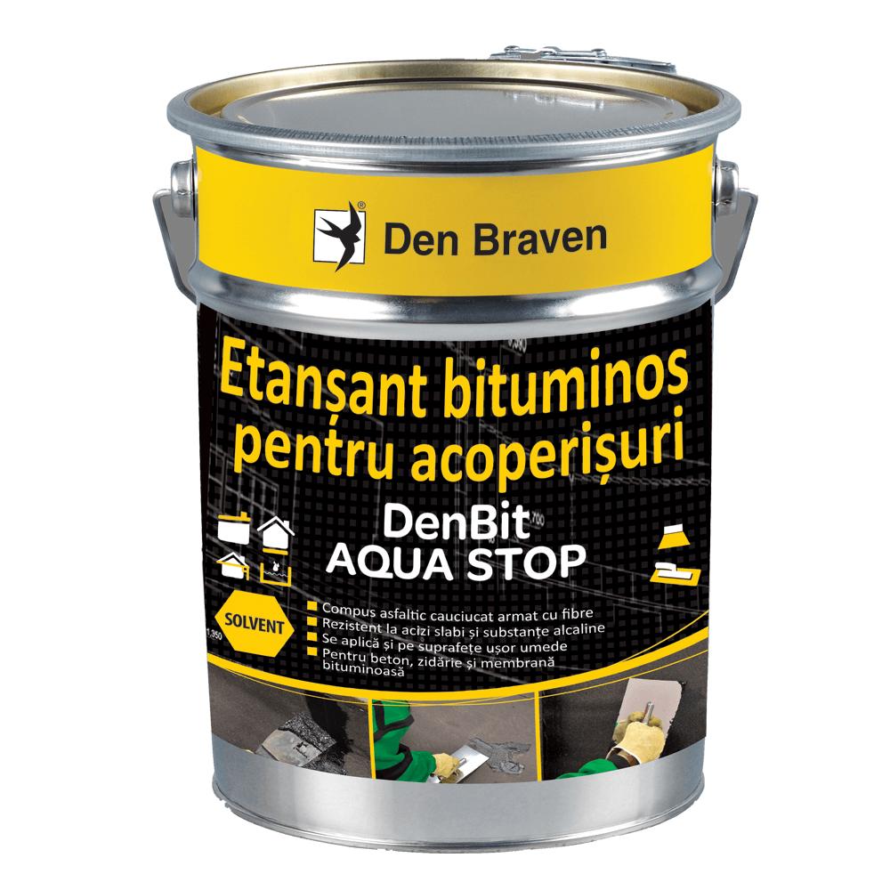 Etansant  bituminos pentru acoperisuri, Den Bit Aqua Stop 1k mathaus 2021