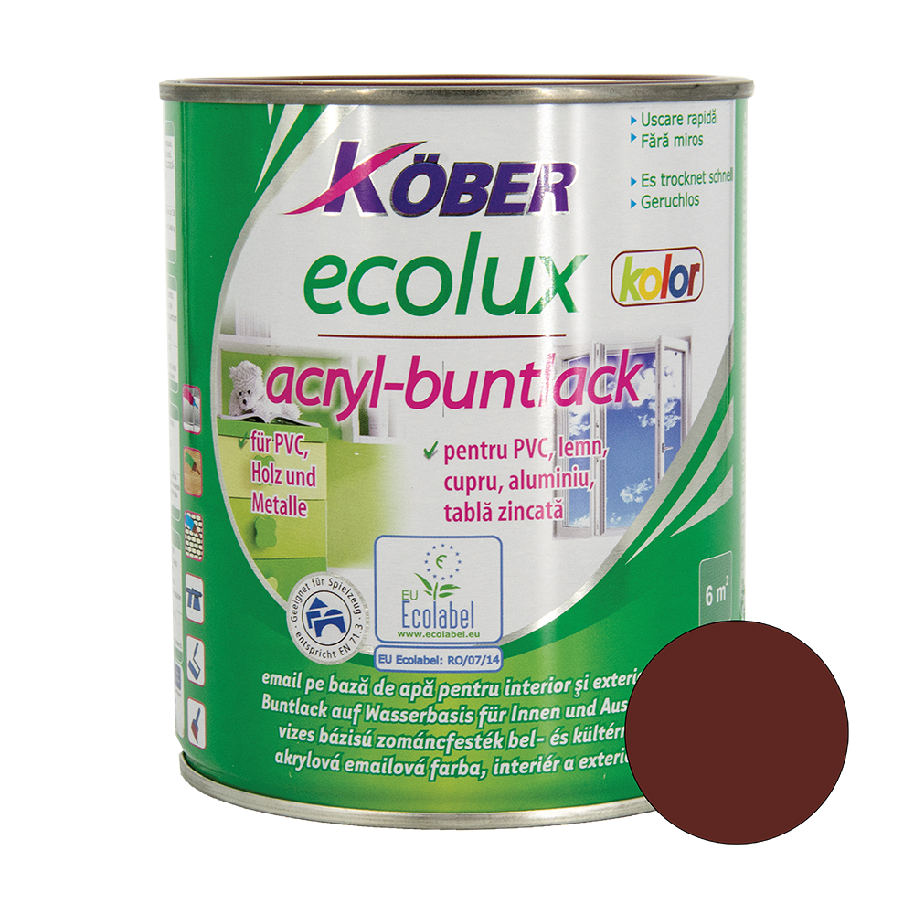 Email Ecolux Kolor rosu vin 0,75 L imagine MatHaus.ro