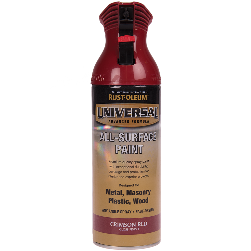 Spray Universal all-surface gloss crimson red 400 ml mathaus 2021