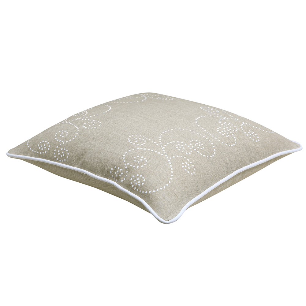 Perna decorativa Dream, model elegant, 100% bumbac, 40 x 40 cm, natur mathaus 2021