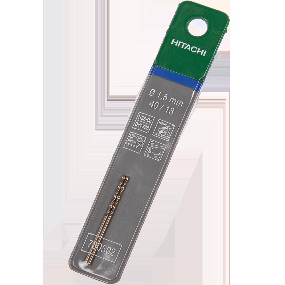 Burghiu Hikoki HSS-Co, mandrina standard, pentru metal, 1,5 mm mathaus 2021