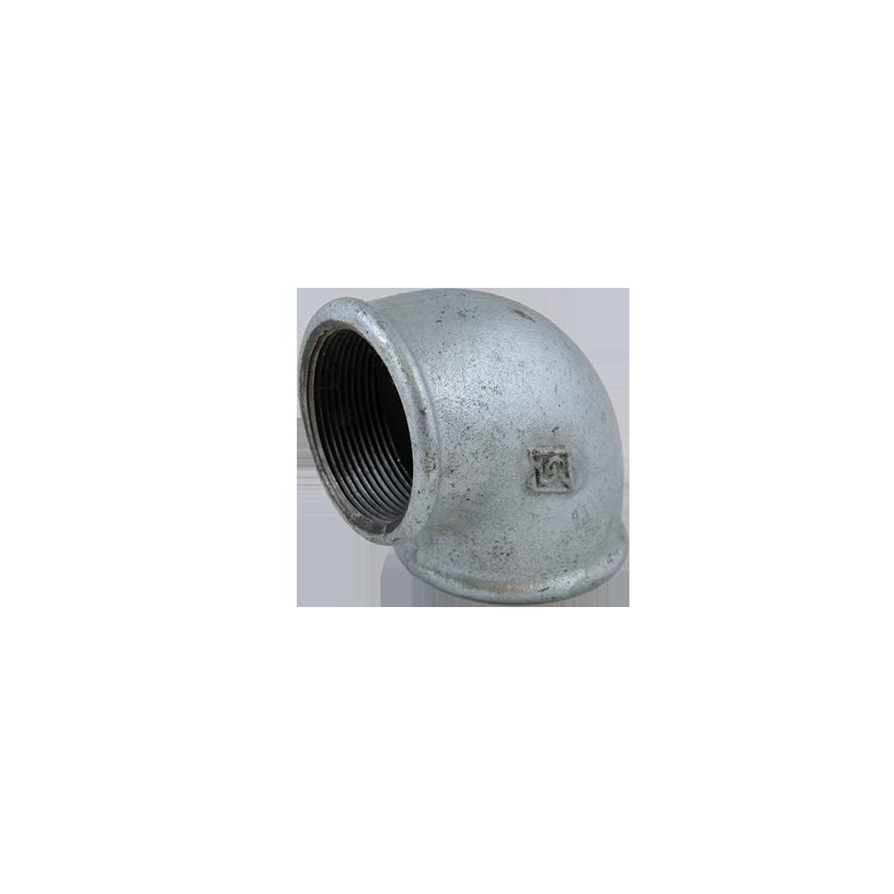 Cot fonta zincata  FI x FI nr.2 1 1/2 inch, 90 grade mathaus 2021